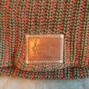 Love your melon slouchy winter hat